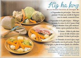 RECETTES DE CUISINE - LE KIG HA FARZ - CPM - VIERGE - - Recettes (cuisine)