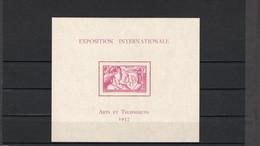 TIMBRE WALLIS&FUTUNA. ANNEE 1937 - Blocks & Sheetlets