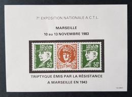 France Y&T Bloc - Timbre(s) Mnh** Numérotés - 2 Scan(s) - TB - 304 - Bloques Souvenir