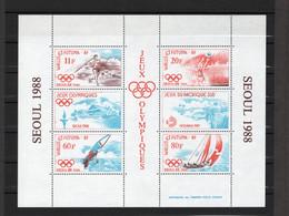TIMBRE WALLIS&FUTUNA. ANNEE 1988 - Blocks & Sheetlets