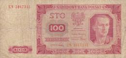 Pologne - Billet De 100 Zlotych - 1er Juillet 1948 - P139 - Poland