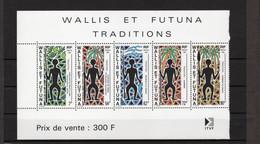 TIMBRE WALLIS&FUTUNA. ANNEE 1991 - Blocks & Sheetlets