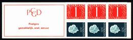 Netherlands Booklet 1969 PB 8a Queen Juliana - Libretti
