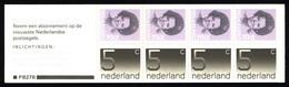 Netherlands Booklet 1985 PB 27b Queen Juliana And Numerals - Libretti