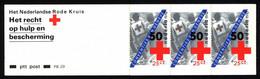 Netherlands Booklet 1983 PB 29 Red Cross - Libretti