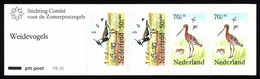Netherlands Booklet 1984 PB 30 Northern Lapwing, Black-tailed Godwit - Libretti