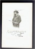 HENRI CAIN 1857 1937 PARIS DRAMATURGE ROMANCIER PEINTRE JULES MASSENET PORTRAIT AUTOGRAPHE BIOGRAPHIE ALBUM MARIANI - Documenti Storici