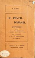 Le Réveil D'Israël, M Barret, Conférence Donnée En La Chapelle De Sion Le 20 Avril 1921. - 1901-1940