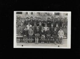 Carte POSTALE PHOTO ECOLE ST LEGERS à Localiser Octobre 1930 - Scuole