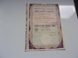 J. BASTOS  Tabacs,cigares,cigarettes (100 NF) Algérie - Sin Clasificación