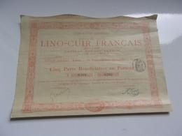 LINO CUIR FRANCAIS - Sin Clasificación