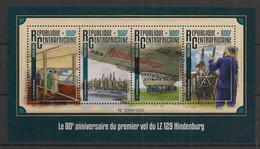 Centrafricaine - 2016 - N°Yv. 4264 à 4267 - Hindenburg - Neuf Luxe ** / MNH / Postfrisch - Repubblica Centroafricana