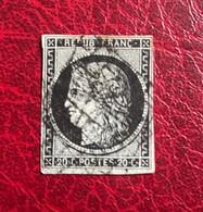 TIMBRE DE FRANCE CERES  OBLITERE  Y&T N°3 - Cote 65 - 1849-1850 Ceres