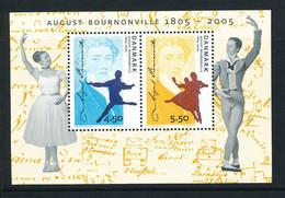 Denmark Souvenir Sheet In Mint Condition (August Bournoville) 2005 - Nuovi