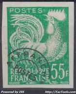 FRANCE : PREOBLITERE COQ N° 118 NON DENTELE NEUF ** GOMME SANS CHARNIERE - Ungezähnt