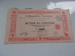 L'ALIMENTATION ECONOMIQUE (bordeaux GIRONDE) - Sin Clasificación