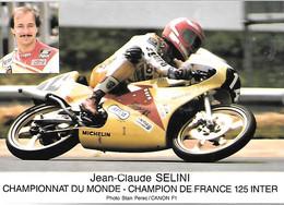 CPA-1982-JC SELINI-Champion De France 125 Inter- Moto 125Cm3 MBA-TBE - Motorcycle Sport
