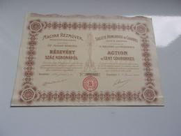 HONGROISE DE CUIVRES, MAGYAR REZMUVEK (1909) - Sin Clasificación