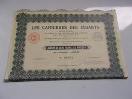 LES CARRIERES DES ESSARTS (lévy Saint Nom) - Sin Clasificación