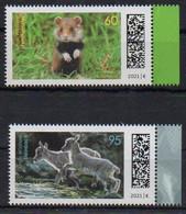 BRD 2021 MiNr. Neu ** Jungtiere: Hamster, Steinbock Aus Dem Bogen - Ohne Zuordnung