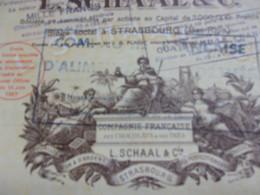 SCHAAL Compagnie Des Chocolats Et Thés (STRASBOURG-BAS RHIN) - Sin Clasificación