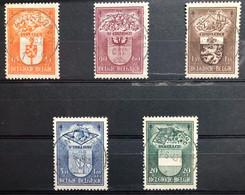 België, 1947, Nr 756-60, OBP 21€, Prachtig Centraal Gestempeld! - Gebraucht