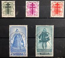België, 1948, Nr 787-91, OBP 36,5€, Prachtig Centraal Gestempeld! - Gebraucht