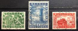 België, 1950, Nr 823-25, OBP 10€, Prachtig Centraal Gestempeld! - Gebraucht