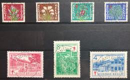 België, 1950, Nr 834-40, OBP 33€, Prachtig Centraal Gestempeld! - Gebraucht
