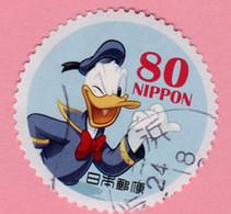 2012  GIAPPONE Fumetti Disney Donald Duck  - 80 Y Usato - Gebruikt