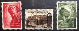 België, 1954, Nr 943-45, OBP 61€, Prachtig Centraal Gestempeld! - Ohne Zuordnung