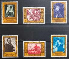 België, 1958, Nr 1076-81, OBP 10€, Prachtig Centraal Gestempeld! - Ohne Zuordnung