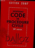 Code De Procédure Pénale - Code Dalloz Expert- Code Pénal - édition 2007 - 98éme édition - Després Isabelle, Guiomard Pa - Droit