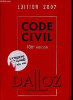 Code De Procédure Pénale - Code Dalloz Expert- Code Pénal - édition 2007 - 106éme édition - Jacob François, Venandet Guy - Droit
