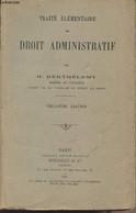 Traité élémentaire De Droit Administratif - 13e édition - Berthélemy H. - 1933 - Droit