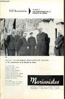 Marianistes, écho Des Oeuvres Et Des Missions De La Société De Marie, N°44 (mai-juillet 1967) : Amour Et Commandement (R - Religion