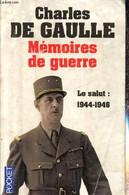 """Mémoires De Guerre, Tome III : Le Salut, 1944-1946 (Collection """"Pocket"""", N°2002) - De Gaulle Charles - 2010 - War 1939-45"""
