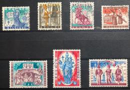 België, 1958, Nr 1082-88, OBP 9€, Prachtig Centraal Gestempeld! - Ohne Zuordnung