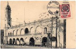 MEXICO Ca 1920. CIRCULATED POSTAL CARD Depicting The Veracruz Cityhall - Mexico