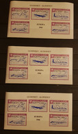 GUERNSEY-ALDERNEY AVIATION OVERPRINT 1966 LOT M/SHEETS MNH. - Otros