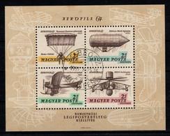 HUNGARY-1967. Souvenir Sheet - Aerofila I. (DH4) USED!!! - Gebraucht