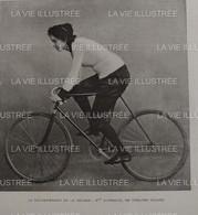 1903 CYCLISME FÉMININ - LA RECORDWOMAN DE LA BÉCANE - Mlle DUTRIEUX - Unclassified