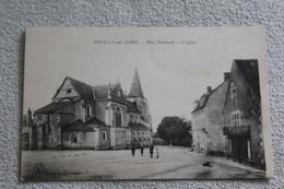 Pouilly Sur Loire, Place Nationale, L'église, Nièvre 58 - Pouilly Sur Loire