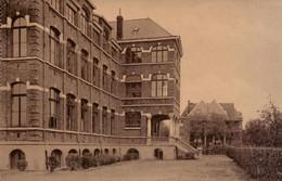 Colonie D'Averbode - Oeuvre Nationale Des Colonies Scolaires Catholiques - Vue Du Grand Bâtiment Et De La Ville - Scherpenheuvel-Zichem