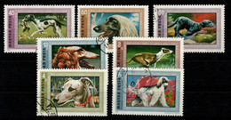 HUNGARY - 1972. Greyhounds - Dogs Cpl.Set (DH4)  USED!!! Mi.:2742-2748. - Gebraucht