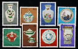 HUNGARY - 1972.Cpl.Set - Herend Porcelain/Chinaware (DH4)   USED!! Mi.:2795-2802. - Gebraucht