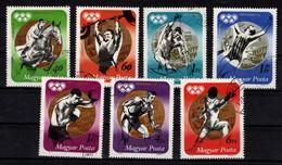 HUNGARY - 1973. Hungarian Medallists In Munich / Sport  Cpl.Set (DH4)  USED!!  Mi.:2847-2853. - Gebraucht