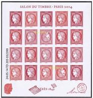 France 2014 - F4871 Bloc Feuillet  Salon Du Timbre Cérès Avec Tête Bêche - Neuf - Ongebruikt
