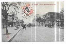Tonkin Hanoi Boulevard Henri Rivière - Vietnam