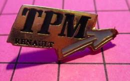 621 Pin's Pins / Beau Et Rare / THEME : AUTOMOBILES / TPM RENAULT - Renault